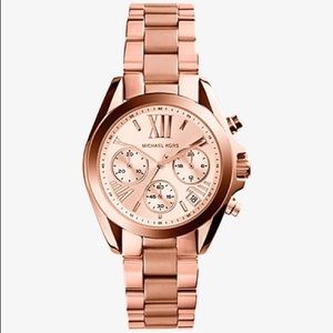 Michael Kors MK Bradshaw Rose Gold Watch